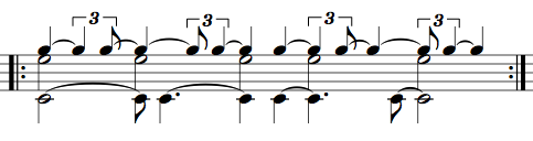 Major Triad (6/5/4)